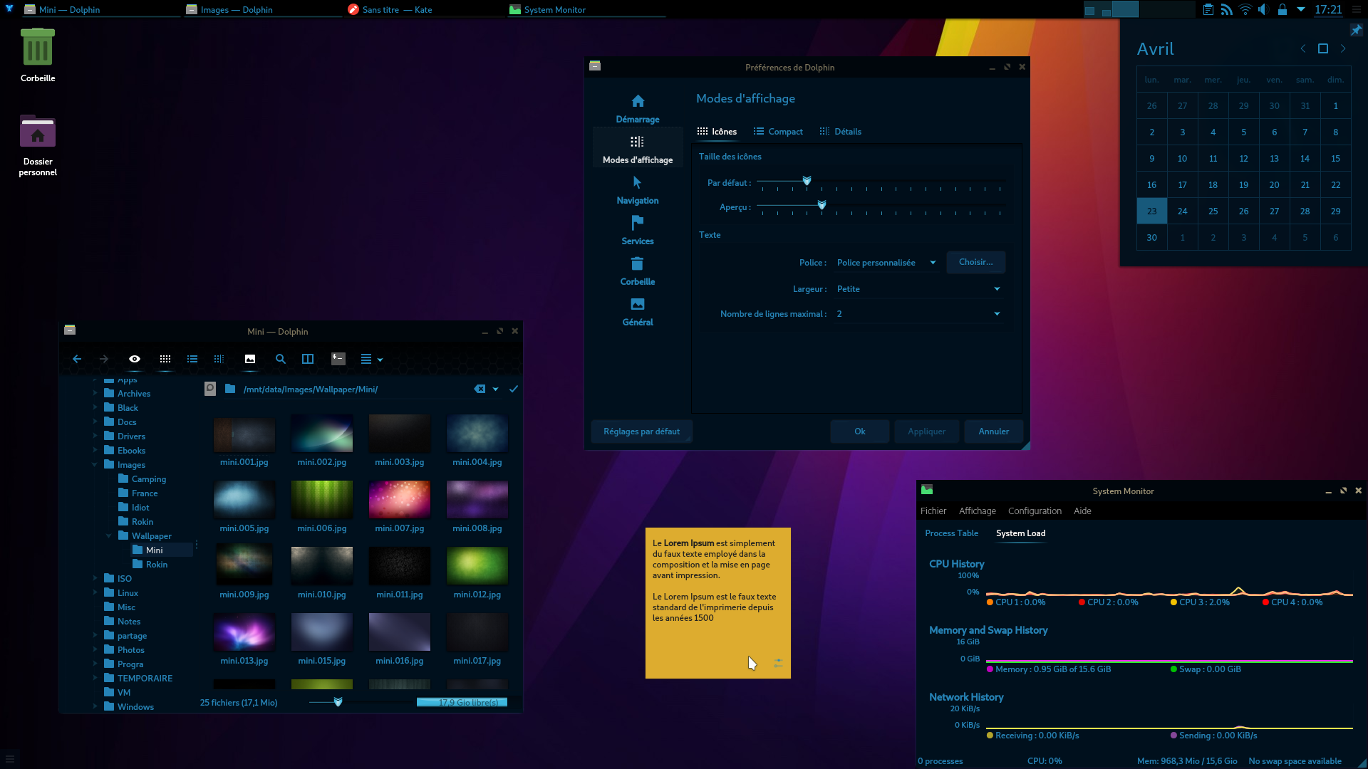 Preview Starcraft KDE