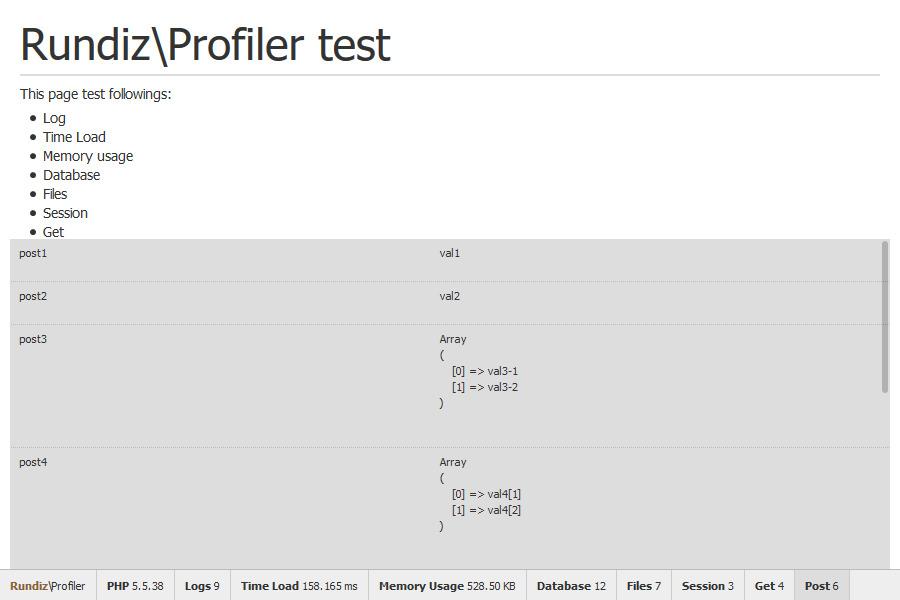 Rundiz\Profiler