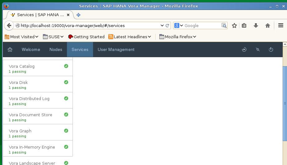 How to setup the SAP Vora developer edition virtual machine
