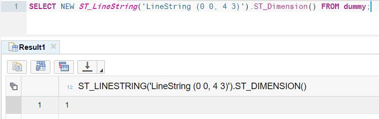 String Dimension
