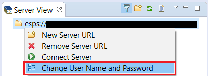 Change Username and Password