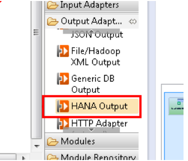 add HANA table