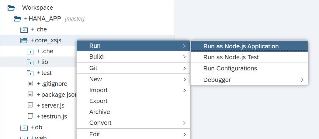run module