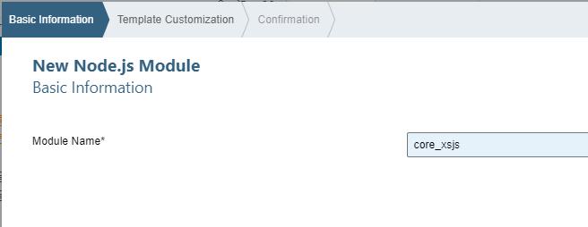 js module