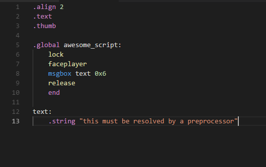 PokéScript