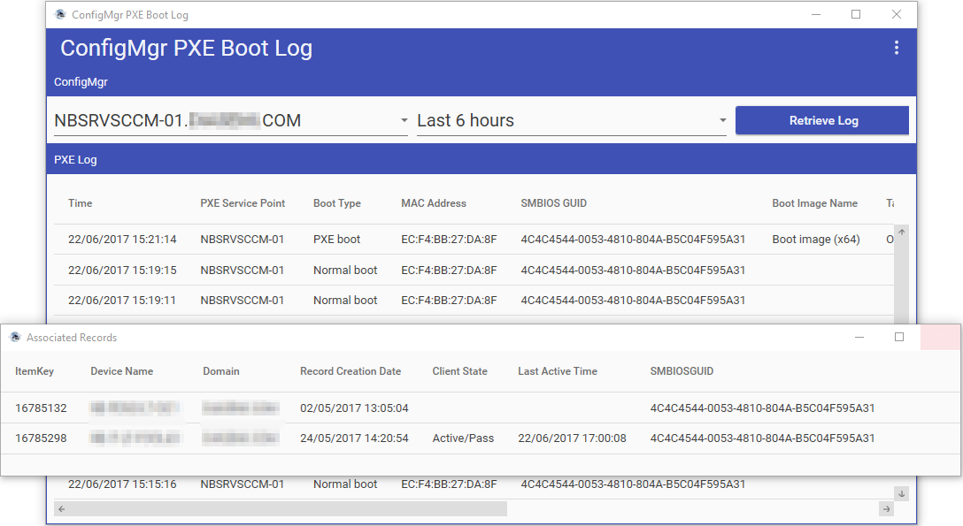 GitHub - SMSAgentSoftware/ConfigMgr-PXE-Boot-Log: A tool to view PXE