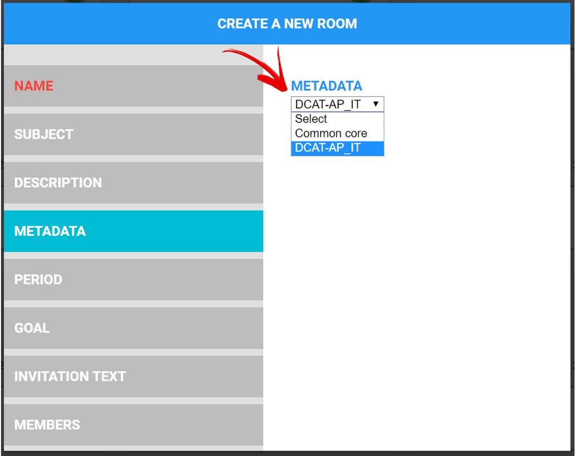 SPOD and metadata standard: