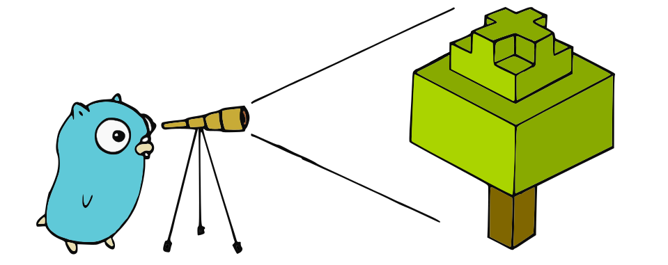 telescope gopher