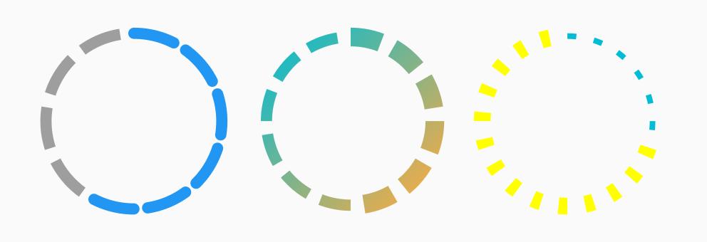 Circular Step Progress Indicator - Example 1