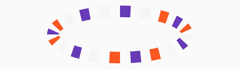 Circular Step Progress Indicator - Example 4