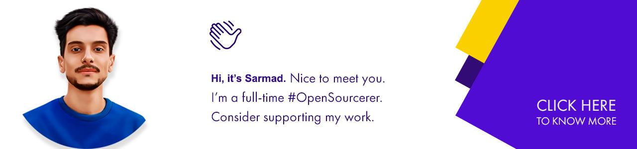Sponsor Sarmad