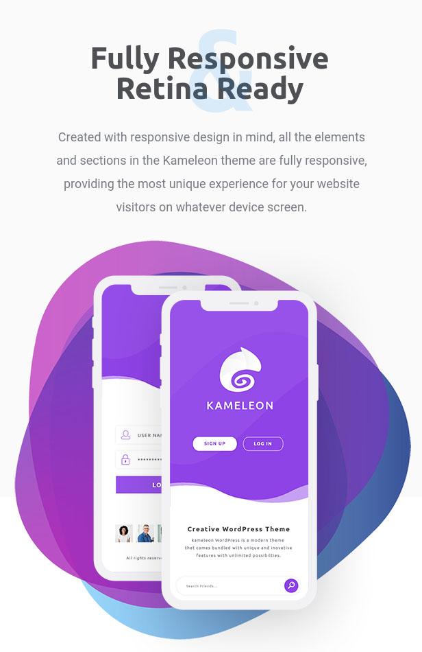 Kameleon | Responsive Creative Theme - 6