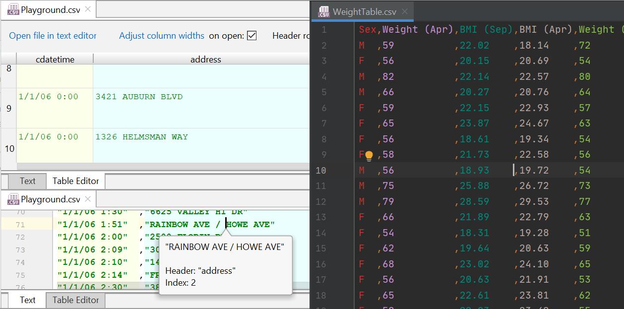 CSV Plugin Example