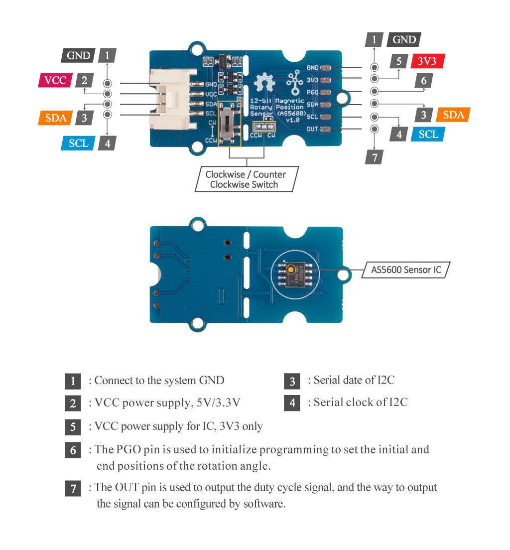 AS5600 Hardware