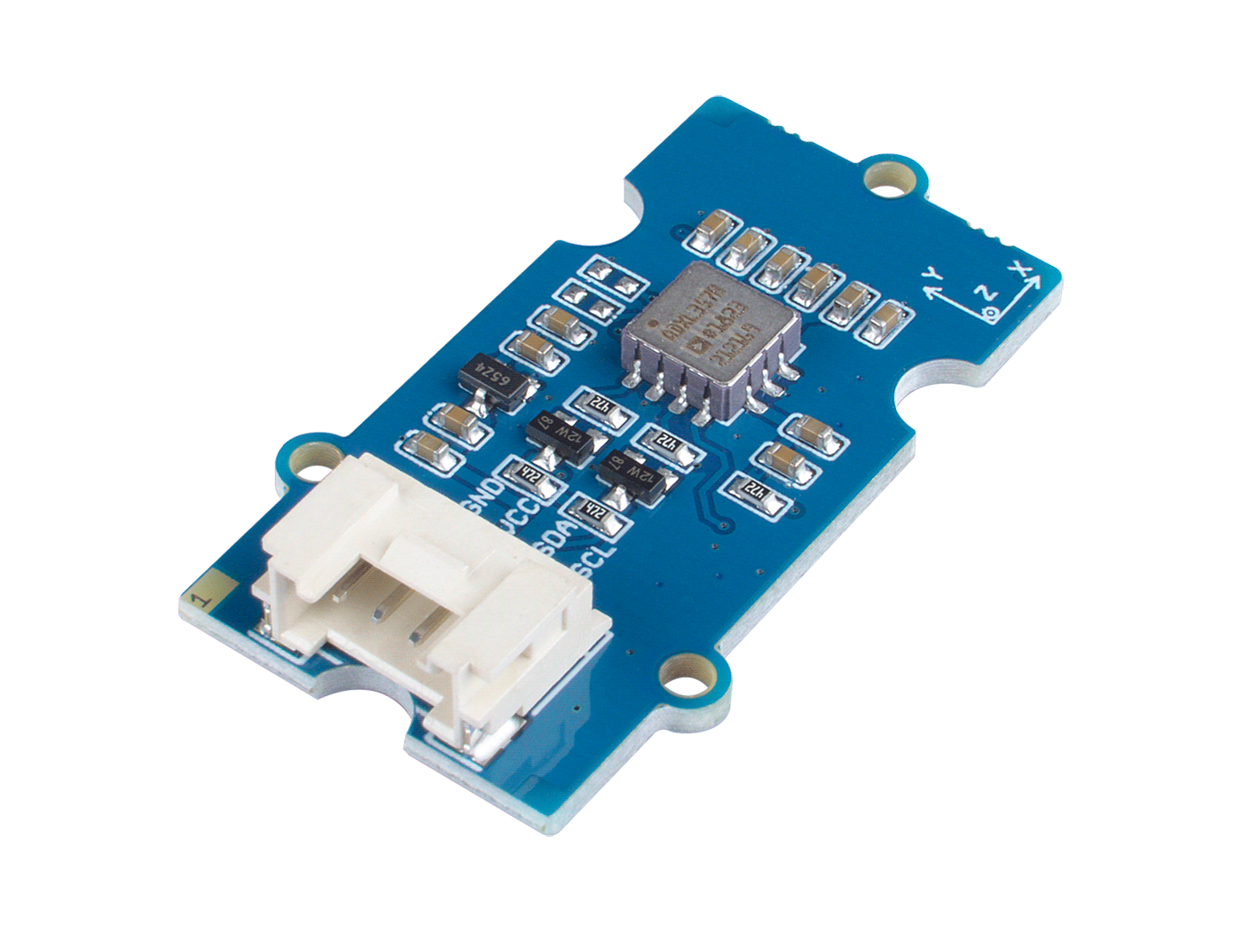 Grove - 3-Axis Digital Accelerometer 40g (ADXL357) - Seeed Wiki
