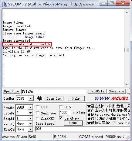 Grove - Fingerprint Sensor - Seeed Wiki