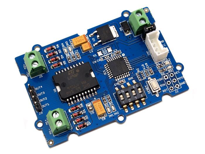 Astonishing Grove I2C Motor Driver V1 3 Seeed Wiki Wiring Cloud Hisonuggs Outletorg