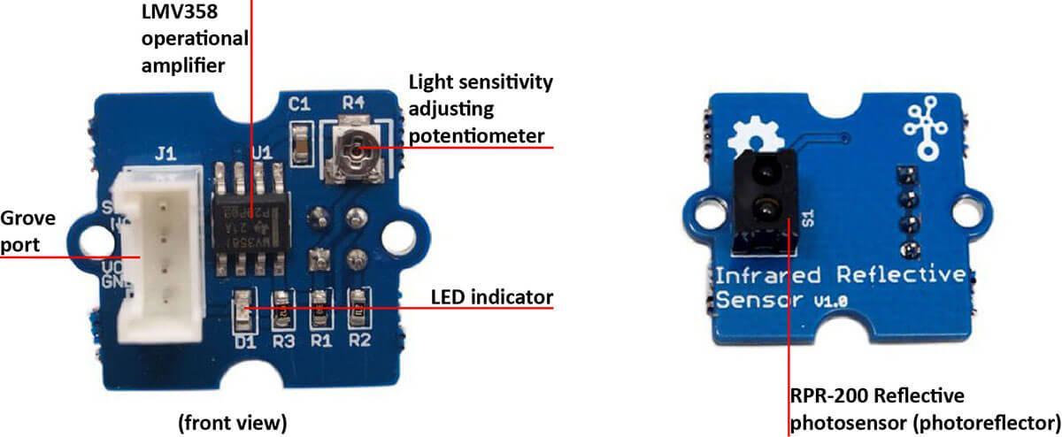 Grove Infrared Reflective Sensor Seeed Wiki