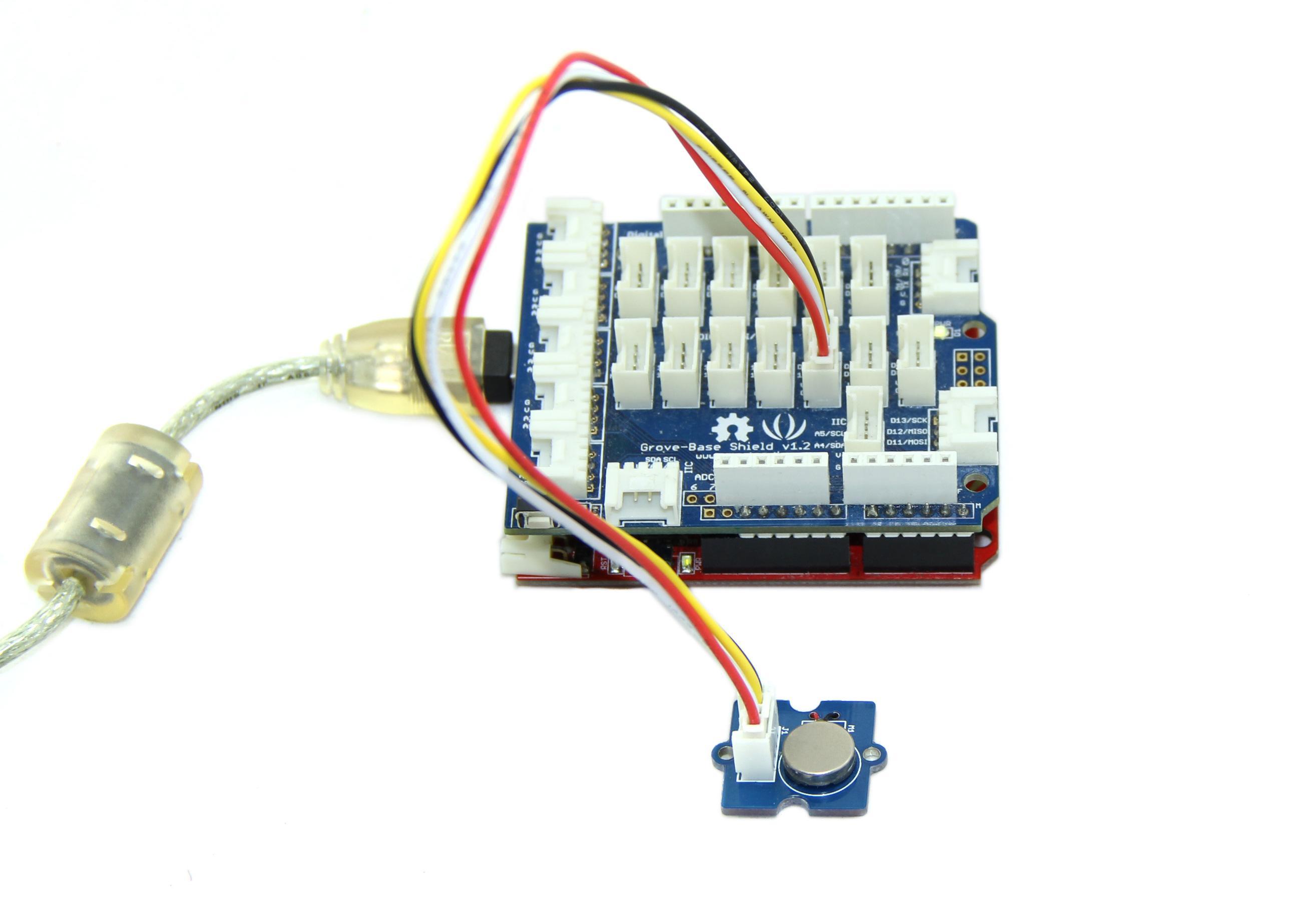 Grove Vibration Motor Voice Control Circuit Scr Music Sound Note