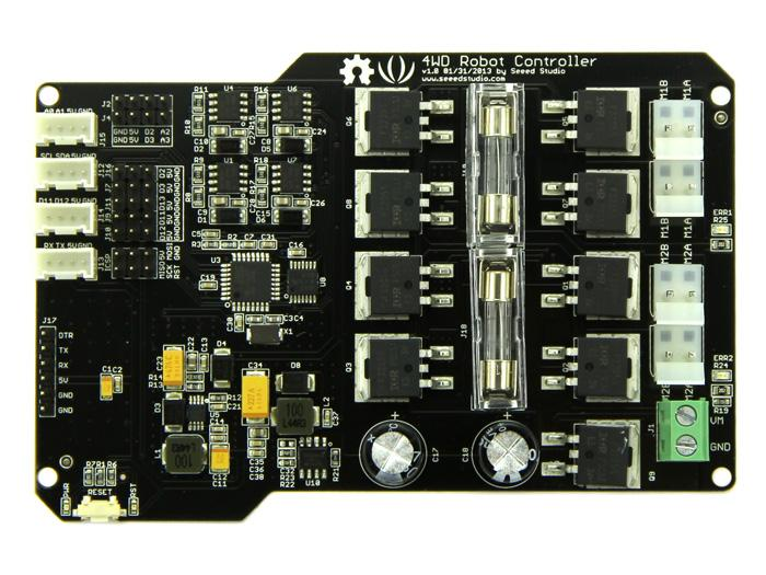 Hercules Dual 15A 6-20V Motor Controller - Seeed Wiki