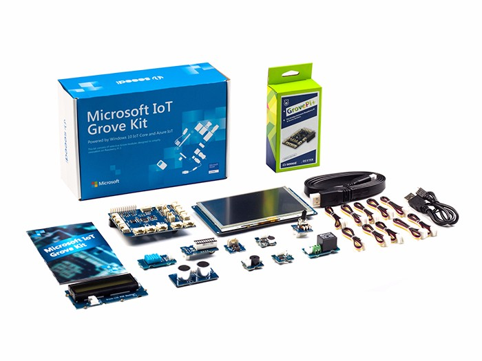 Grove Starter Kit for IoT based on Raspberry Pi - Seeed Wiki
