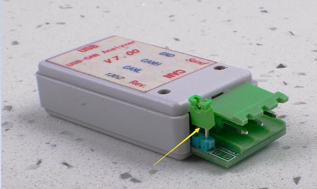 120Ω terminating resistor