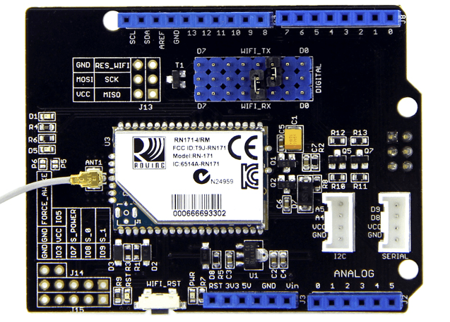 Wifi Shield V2 0 - Seeed Wiki