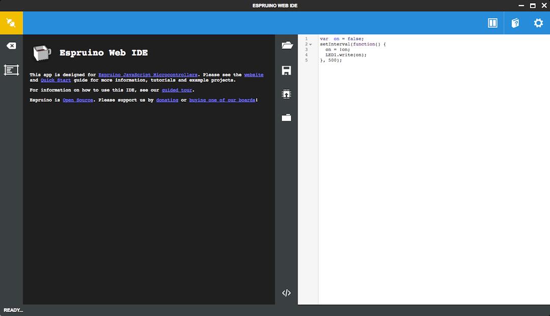 Espruino Web IDE