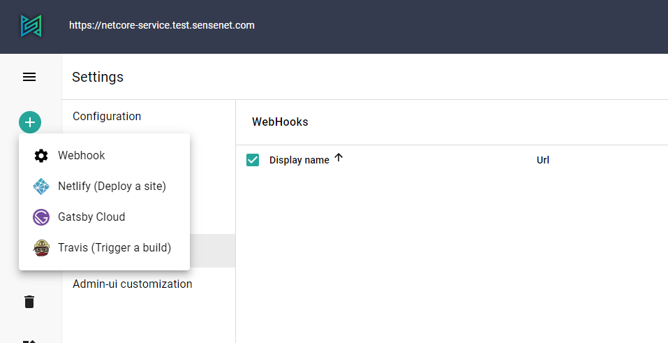 Webhook template icons