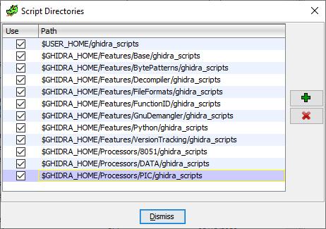 Scripting Directories