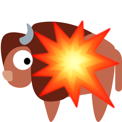 :yaksplode: emote from the SerenityOS Discord server