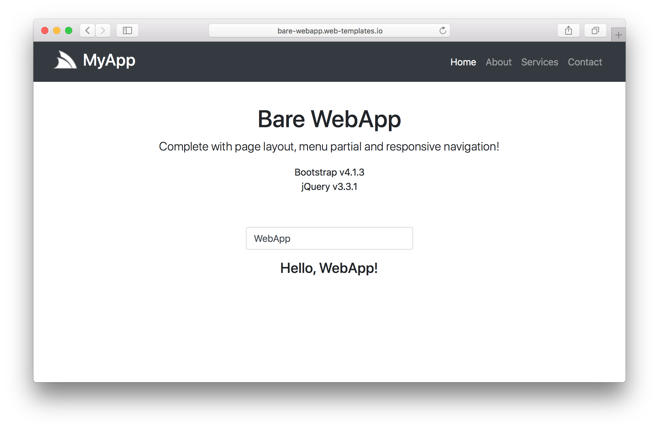 Web apps to start with a simple and mininal website create a new bare webapp project template maxwellsz
