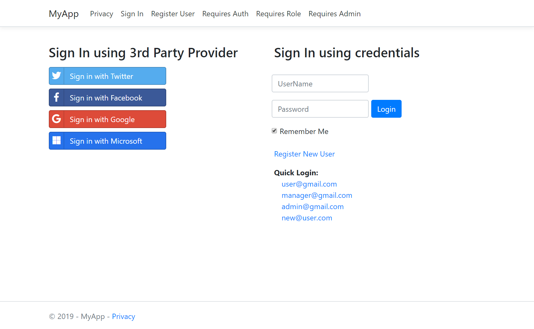 Using ASP NET Identity Auth in ServiceStack