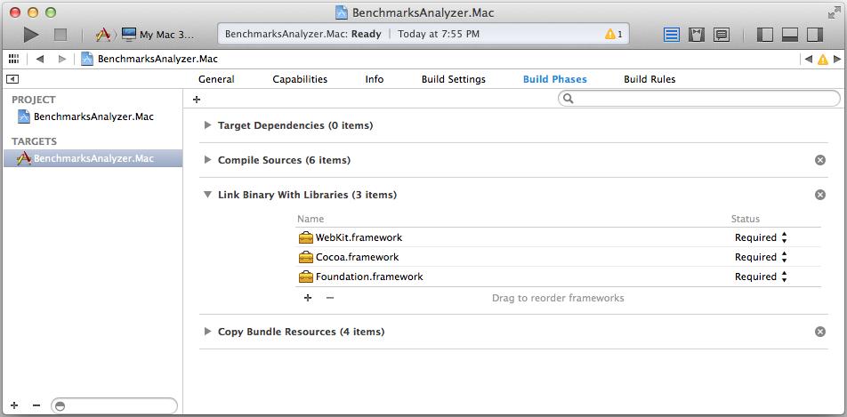 Add WebKit Framework
