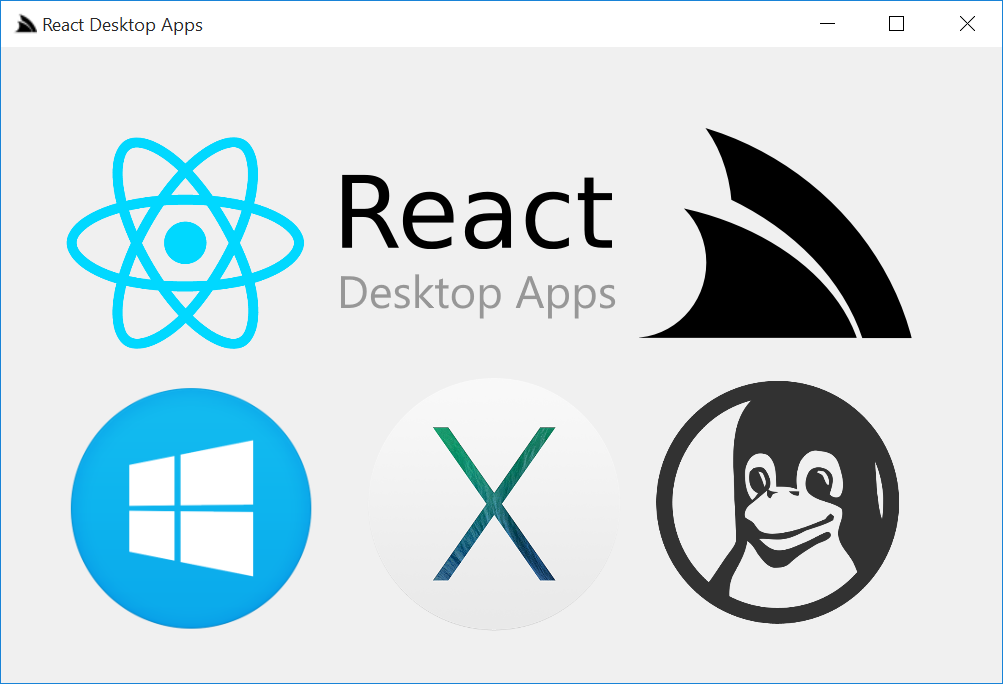 React Desktop Apps