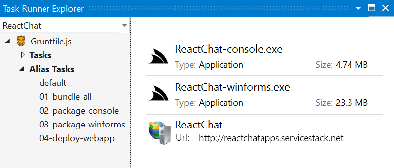 GitHub - ServiceStackApps/ReactChatApps: ReactChat using multi