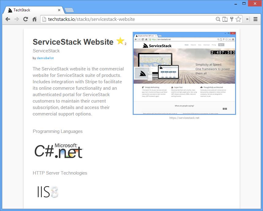 TechStack Screenshot