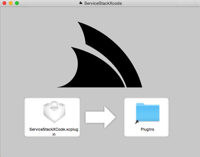 ServiceStackXCode.dmg Installer