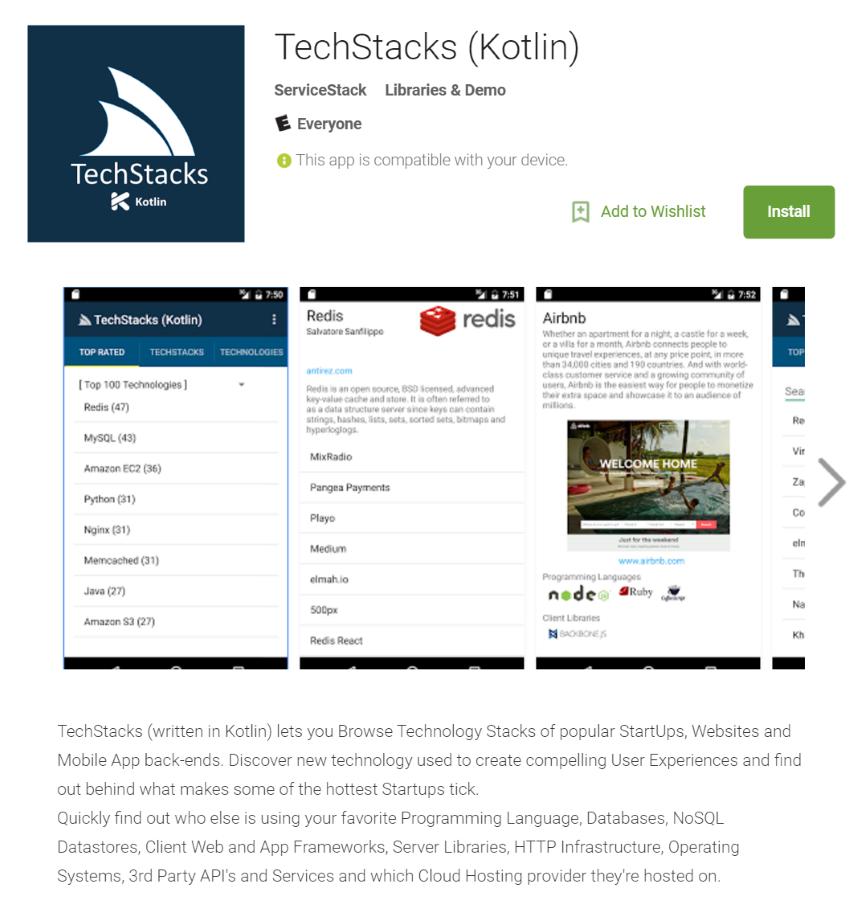 GitHub - ServiceStackApps/TechStacksKotlinApp: TechStacks