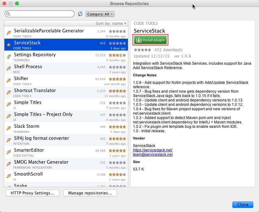 Intellij Plugins install Manually