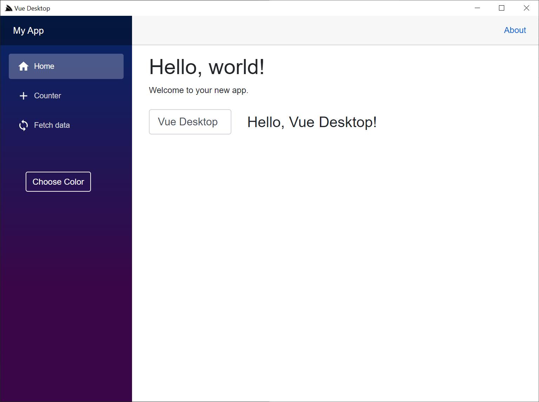 Desktop Project Templates