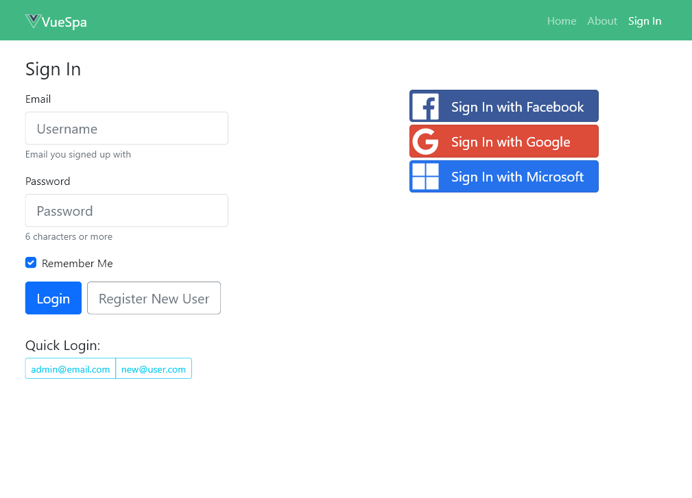 Create new Projects with 'web new'