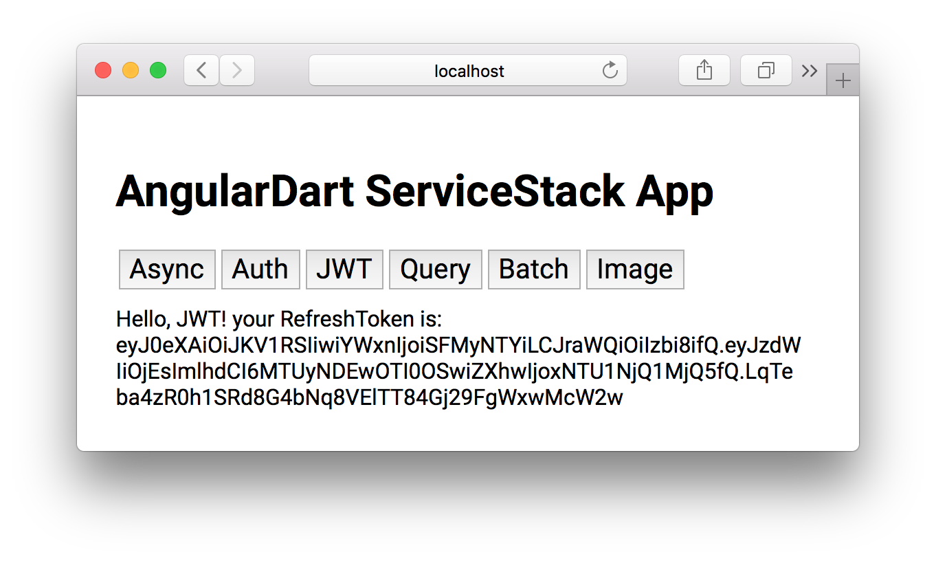 Dart Add ServiceStack Reference