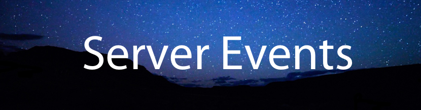 Server Events