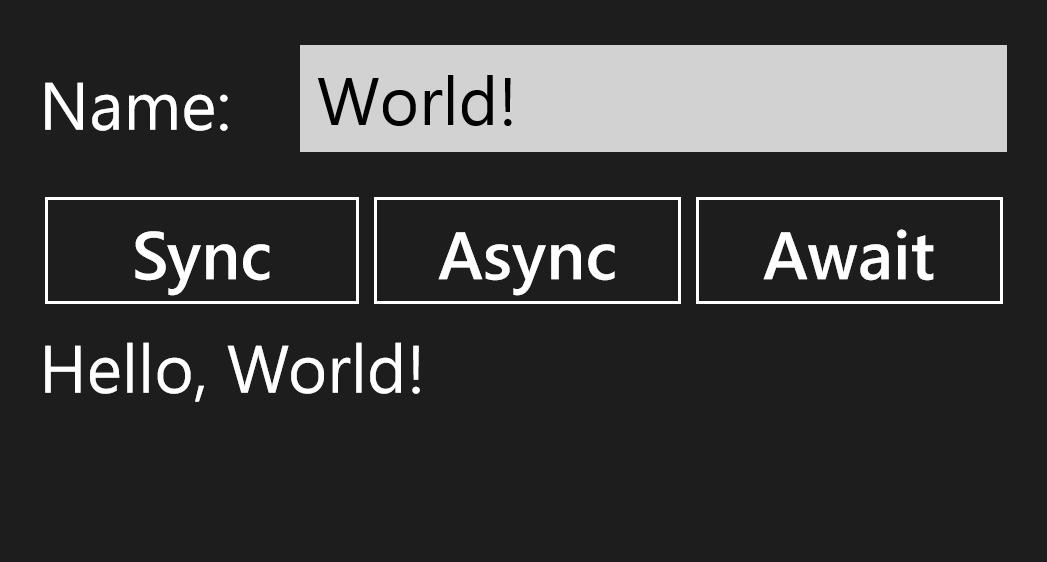 Windows Store Screenshot