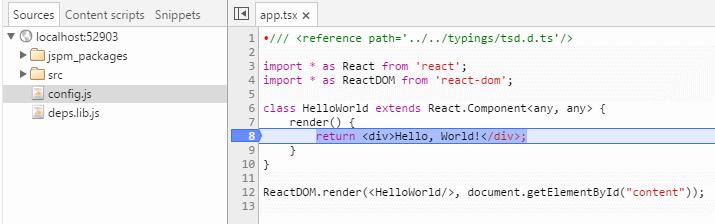 install typescript react