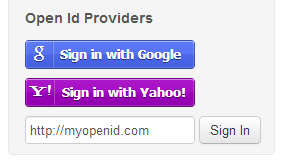 ServiceStack OpenId 2.0 Providers