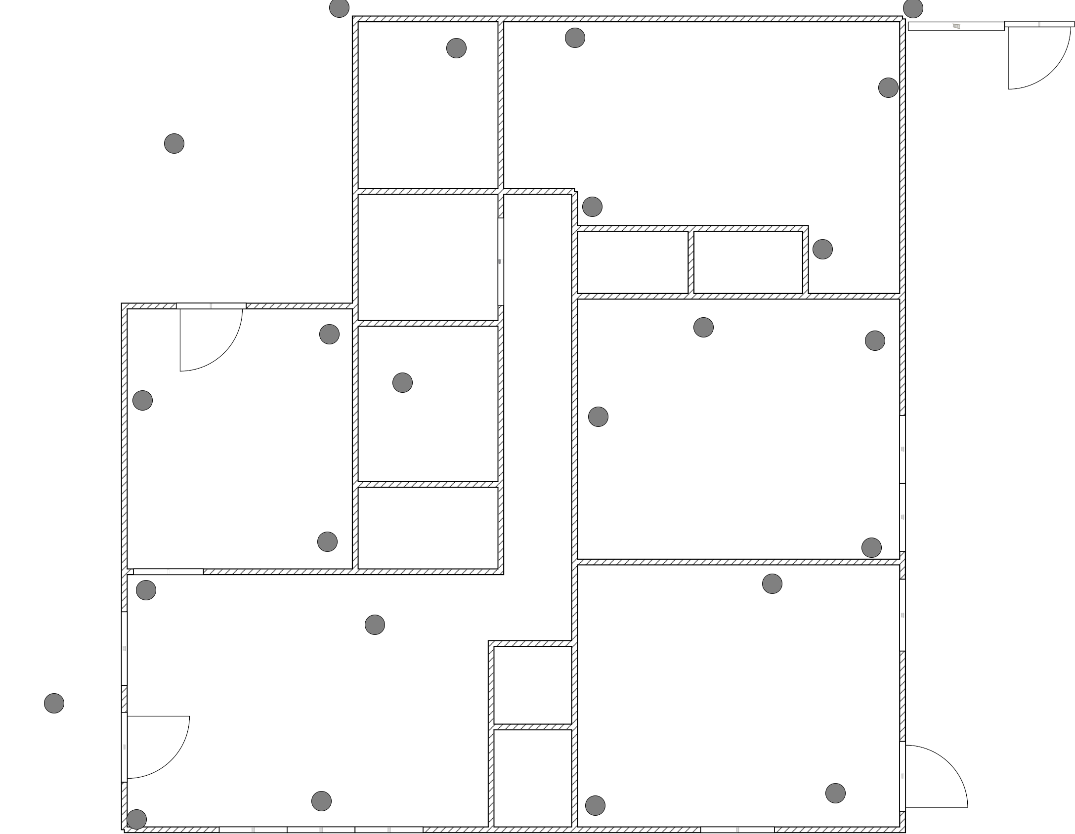example floorplan image with measurement marks
