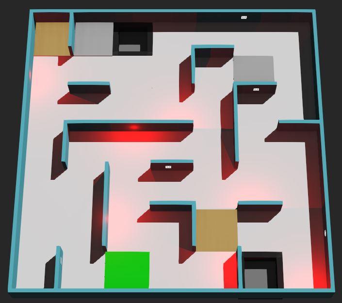 Erebus Rescue Maze Simulation