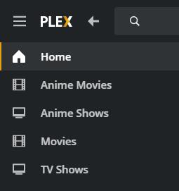 Plex Library Example